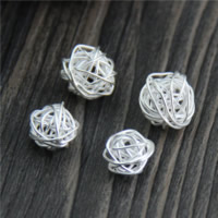 925 Sterling Silver European Beads Hole:Approx 2mm 10PCs/Lot