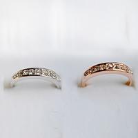 Модные кольца, цинковый сплав, Другое покрытие, со стразами, Много цветов для выбора, не содержит свинец и кадмий, 16mm, размер:6-10, продается PC