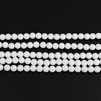 морское ушко Бусины, Круглая, 8mm, отверстие:Приблизительно 0.5mm, длина:Приблизительно 15 дюймовый, 10пряди/Лот, Приблизительно 50ПК/Strand, продается Лот