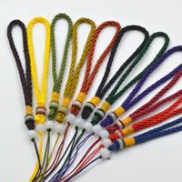 Шнуры для ожерелий, Полиэстер, с канифоль, Много цветов для выбора, 150mm, продается PC