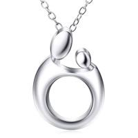 Серебряное ожерелье, Серебро 925 пробы, Овальный цепь & Женский, 12.3x18mm, 0.8mm, Продан через Приблизительно 18 дюймовый Strand