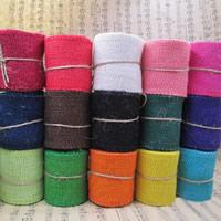 Постельное белье Шнурок, Много цветов для выбора, 60mm, 10м/сумка, продается сумка