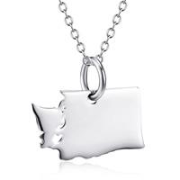 Серебряное ожерелье, Серебро 925 пробы, карта, Овальный цепь & Женский, 16.6x14mm, 1.2mm, Продан через Приблизительно 18 дюймовый Strand