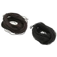 Шнуры из воска, Вощеная Конопля шнура, Много цветов для выбора, 2.5mm, Приблизительно 380м/PC, продается PC