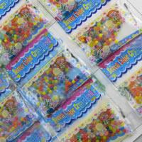 Бусины из пластика, пластик, Круглая, Эластичное, разноцветный, 5-20mm, 5Наборы/Лот, Приблизительно 30Сумки/указан, продается Лот
