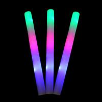 PE пена Светящаяся Палочка, Другое покрытие, LED, разноцветный, 47x4cm, продается PC