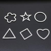 титан подвески, разные стили для выбора, оригинальный цвет, 25x25mm, отверстие:Приблизительно 15-18mm, продается PC