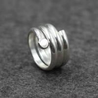 Cеребряное кольцо, Серебро 925 пробы, Женский, 15mm, размер:7, продается PC