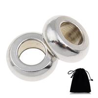 Европейские стильные бусины из нержавеющей стали, Нержавеющая сталь 316, Круглая форма, отличается упаковка стиль для выбора & без Тролль, оригинальный цвет, 10x4mm, отверстие:Приблизительно 5mm, продается PC
