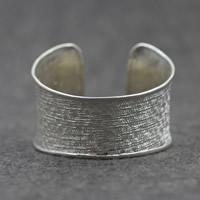 Серебро 925 пробы браслет-манжеты, Женский, 43mm, внутренний диаметр:Приблизительно 60mm, продается PC