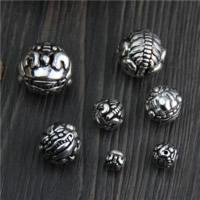 Бусины из настоящего балийского серебра, Таиланд, Сказочный Дикий Зверь, разный размер для выбора, продается Лот
