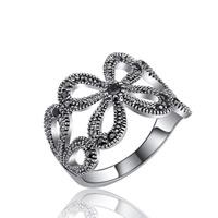 Модные кольца, цинковый сплав, Другое покрытие, различный внутренний диаметр по выбору & Женский & со стразами, не содержит свинец и кадмий, 18x14mm, продается PC