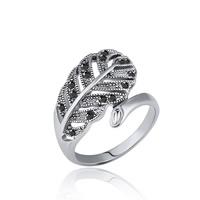 цинковый сплав Манжеты палец кольцо, Платиновое покрытие платиновым цвет, различный внутренний диаметр по выбору & Женский & со стразами, не содержит свинец и кадмий, 19x17mm, продается PC