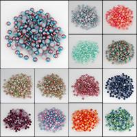 ABS пластик жемчужина кабошон, разный размер для выбора & плоской задней панелью, Много цветов для выбора, продается сумка
