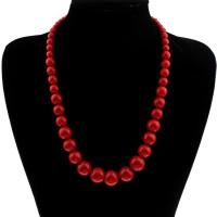 Коралловые ожерелья, Синтетический коралл, Женский, 6-16mm, Продан через Приблизительно 19.5 дюймовый Strand