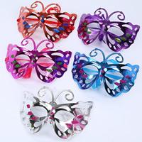 Fashion Party Mask, пластик, Связанный вручную, для детей, разноцветный, 100-300mm, 5ПК/сумка, продается сумка