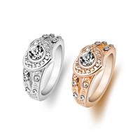 Модные кольца, цинковый сплав, Сердце, Другое покрытие, разный размер для выбора & Женский & со стразами, Много цветов для выбора, не содержит никель, свинец, внутренний диаметр:Приблизительно 18mm, продается PC
