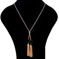 Ожерелья из полимерной смолы, цинковый сплав, с железный цепи & канифоль, плакирован золотом, Женский, не содержит свинец и кадмий, 460mm, Продан через Приблизительно 18 дюймовый Strand