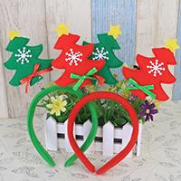 Нетканые ткани с Сатиновая лента, Рождественская елка, Рождественские украшения, Много цветов для выбора, 250mm, продается PC