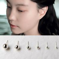 Серьги из серебра, Серебро 925 пробы, разный размер для выбора & Женский, продается Пара