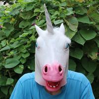 Fashion Party Mask, латекс, Хэллоуин ювелирные изделия, белый, 440x380mm, продается PC