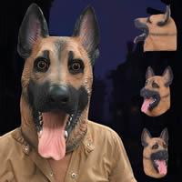 Fashion Party Mask, латекс, Хэллоуин ювелирные изделия, Коричневый, 450x400mm, продается PC