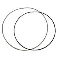Воротник Ожерелье, нержавеющая сталь, Кольцевая форма, Другое покрытие, различной длины для выбора, Много цветов для выбора, 2mm, 18x3mm, продается PC