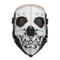 Fashion Party Mask, Искусственная кожа, с Эластичный Шнур капроновый & цинковый сплав, Другое покрытие, Мужская, не содержит никель, свинец, 200mm, 280mm, продается PC