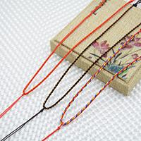 Шнуры для ожерелий, плетеный, Много цветов для выбора, 1.8mm, длина:Приблизительно 17.5-23.5 дюймовый, 10пряди/Лот, продается Лот