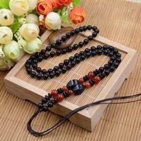 Шнуры для ожерелий, с Агат, 6mm, длина:Приблизительно 23.6 дюймовый, 10пряди/Лот, продается Лот