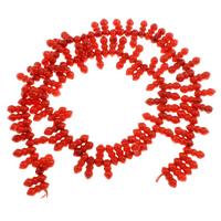Бусины из натурального коралла, Натуральный коралл, 10x4.5mm, отверстие:Приблизительно 1mm, длина:Приблизительно 15.7 дюймовый, 10пряди/сумка, Приблизительно 92ПК/Strand, продается сумка