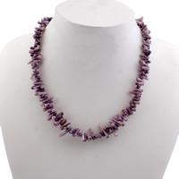 Коралловые ожерелья, Натуральный коралл, железо Замок-карабин, Много цветов для выбора, 9.5x3.5mm-14x4mm, отверстие:Приблизительно 1mm, длина:Приблизительно 16.5 дюймовый, 10пряди/сумка, продается сумка