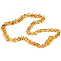 Ожерелье из агата, янтарь, натуральный, для детей, Много цветов для выбора, 320mm, Продан через Приблизительно 12.5 дюймовый Strand