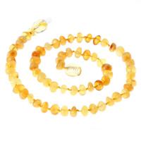 Ожерелье из агата, янтарь, натуральный, для детей, 320mm, Продан через Приблизительно 12.5 дюймовый Strand