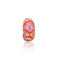 Бусины лэмпворк (стиль Европейская стиль), Лэмпворк, Круглая форма, плакированный цветом под старое серебро, Латунь одно ядро без Тролль, 8x14mm, отверстие:Приблизительно 4.5mm, 10ПК/сумка, продается сумка