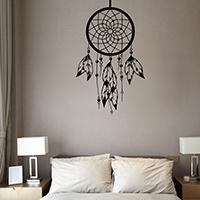 Наклейки на стену, PVC-пластик, Ловец снов, водонепроницаемый, 430x720mm, продается указан
