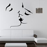 Наклейки на стену, PVC-пластик, водонепроницаемый, 570x550mm, продается указан