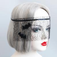 Fashion Party Mask, Войлок, с Кружево & Сатиновая лента, Хэллоуин ювелирные изделия & Женский, 300mm, продается PC