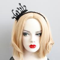 Резинки для волос, Войлок, с Кружево & Железо, Хэллоуин ювелирные изделия & Женский, 65mm, продается PC