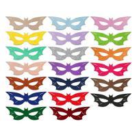 Fashion Party Mask, Войлок, с Сатиновая лента, Мужская, Много цветов для выбора, 290x92mm, продается PC