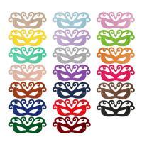 Fashion Party Mask, Войлок, с Сатиновая лента, Мужская, Много цветов для выбора, 263x113mm, продается PC