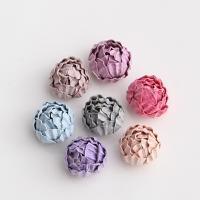 ткань Аксессуары для волос DIY Результаты, Форма цветка, Много цветов для выбора, 30mm, 20ПК/сумка, продается сумка