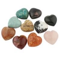 Кольё из камней, Полудрагоценный камень, разнообразный, 39x39x20mm-38x40x25mm, 5ПК/сумка, продается сумка
