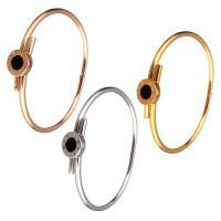 Браслеты из полимерной смолы, нержавеющая сталь, с канифоль, Другое покрытие, Женский, Много цветов для выбора, 12mm, 3mm, внутренний диаметр:Приблизительно 59x48mm, продается PC
