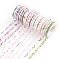 Декоративные ленты, PVC-пластик, 7mm, длина:Приблизительно 10 м, 10ПК/Лот, продается Лот