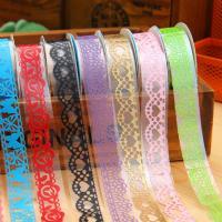 Декоративные ленты, PVC-пластик, 15mm, длина:Приблизительно 10 м, 10ПК/Лот, продается Лот