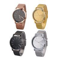 Часы унисекс, цинковый сплав, с Стеклянный, Другое покрытие, Мужская, Много цветов для выбора, 42x9mm, длина:Приблизительно 9 дюймовый, продается PC