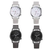 Часы унисекс, цинковый сплав, с Стеклянный & нержавеющая сталь, Другое покрытие, Мужская, Много цветов для выбора, 42x9mm, длина:Приблизительно 9 дюймовый, продается PC