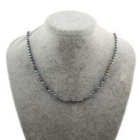 Природное пресноводное жемчужное ожерелье, Пресноводные жемчуги, Рисообразная, Женский, 4-5mm, Продан через Приблизительно 18 дюймовый Strand