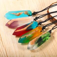 Дерево ожерелье, деревянный, с Нейлоновый шнурок & канифоль, Мужская, Много цветов для выбора, 65cm, Продан через Приблизительно 25 дюймовый Strand